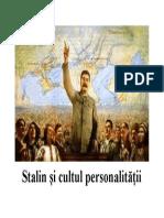 Imagine Cultul Personalitatii Stalin
