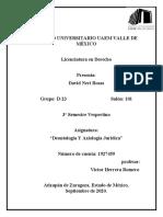 DEONTOLOGIA Y AXIOLOGIA