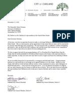 Letter to Governor Newsom- Barbara Lee for CA Senate