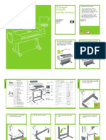 HP Designjet T1100 MFP series - Assembly instructions c01151456