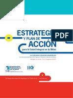estrategia y plan de acción para la salud integral en la niñez