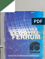 CATALOGO FERRUM