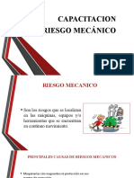 CAPACITACION RIESGO Mecanico