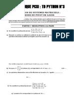 03 - Methode Du Pivot de Gauss Pages 1 a 4