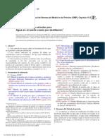 ASTM D4006-11 (Metodo de prueba estandar para agua en aceite crudo por destilación).en.es