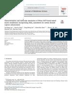 Characterization and molecular simulation of Pebax-1657-based mixed matrix membranes incorporating MoS2 nanosheets for carbon dioxide capture enhancement - liu2019.pdf