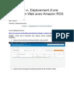 TPE 4 Déploiement App Web avec RDS (Récupération automatique).docx