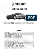 Parking Sensor Cisbo Rader System User s Manual