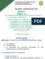 CLASE 5 LA DIRECCION ESTRATEGICA