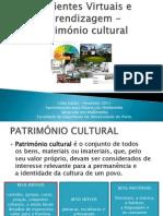 Ambientes Virtuais e Aprendizagem - Patrimonio Cultural v2