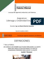 Asignatura Liderazgo e Innovación Empresarial