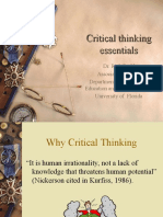 Critical Thinking Essential.ppt