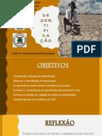 Aula desertificação semiárido - produção animal