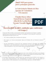 Conceptos y principios generales. Sección 2 NIIF para PYMES