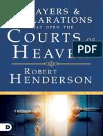 Robert Henderson - Oraciones y Declaraciones que abren las cortes del cielo