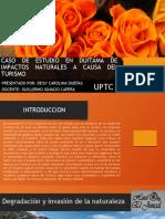 CASO DE ESTUDIO EN DUITAMA DE IMPACTOS NATURALES