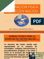 EXAMEN FISICO DEL RN FDS 2019