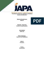 Historia Dominicana-Tarea VIII.docx