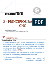 3 Principios básicos de CNC