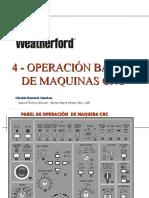 4 Operacion basica de maquinas CNC