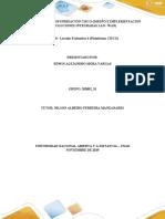 Tarea 8 - Lección Evaluativa 4 (Plataforma CISCO)