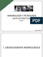 Mineralogía y Petrología 2019-1 Cristalografía y propiedades físicas de los minerales.pdf