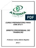 APOSTILA DIREITO PROCESSUAL DO TRABALHO - OAB axioma.pdf