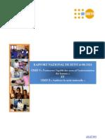 FNUAP- Rapport National de suivi (+10) des OMD3 et OMD 5 - 2010