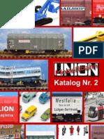 Catalogo Modellbahn Union 2011