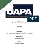 tarea 3 Intervención psicopedagógica y atención a la diversidad.docx