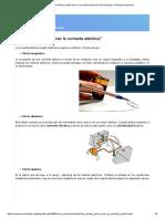¿Qué efectos puede tener la corriente eléctrica_ _ Electricidad y electrónica aplicada.pdf