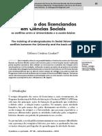 AULA 10 - A ormação dos licenciados em Ciências Sociais os conflitos entre a Universidade e a Esola Básica.pdf