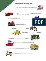 modes-of-transportation