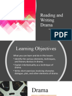 Lesson 5-Reading and Writing Drama