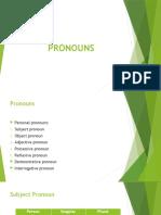 Unit 4 Pronoun & Answer Key