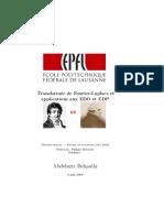Fourier-Laplace