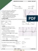 Série d'exercices - Math generalites sur les fonctions - 3ème Technique (2012-2013) Mr guedda omar