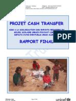 Projet  Cash Transfer - 2010