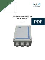 RTCU AX9 pro Technical Manual 1.20.pdf
