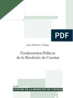 CRESPO Fundamentos Politicos de La Rendicion de Cuentas