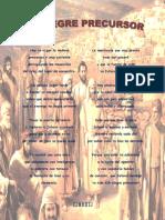 Poema - El alegre precursor (firma)
