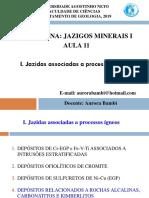 AULA 11-JAZIGOS MINERAIS