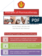 4. Principles of Pharmacotherapy