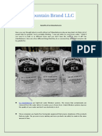 Benefits of Ice Manufacturers