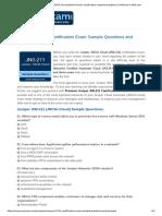 Free Juniper JNCIA Cloud (JNCIA-Cloud) Certification Sample Questions _ NWExam _ NWExam.pdf