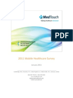 MedTouch - Mobile Healthcare Survey 2011