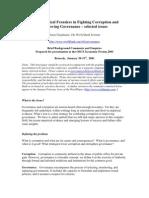 Kauffman Corruption & Governance Kauffman