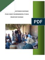 Projet de société égyptienne de raffinage - Etude d'impact environnemental et social - résumé non technique