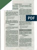 APRUEBAN NORMAS NACIONALES PARA EL DESARROLLO DE PROGRAMAS DE POST TÍTULO EN INSTITUTO DE EDUCACIÓN SUPERIOR TECNOLÓGICO, PROCEDIMIENTOS Y FORMATOS PARA LA AUTORIZACIÓN