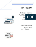 CAS - LP1000 Software Manual